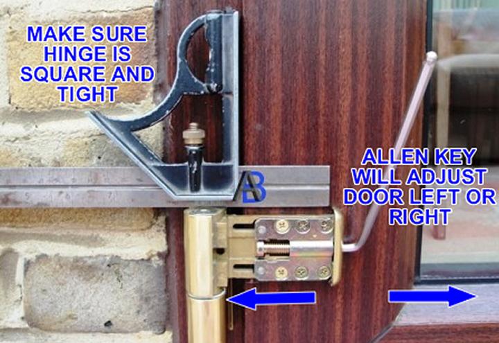 Ask A Builder Adjusting Double Glazed Doors