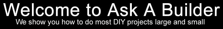 Welcombe to Ask A Builder