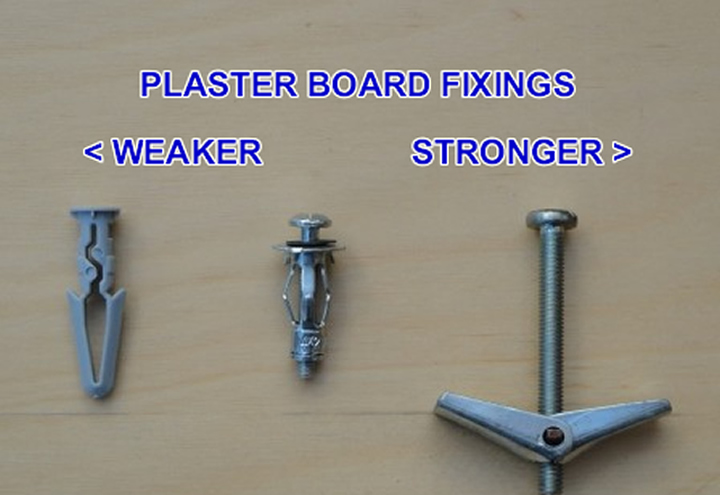 PLaster Board Fixings