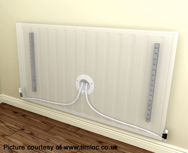 Timloc radiator air barrier